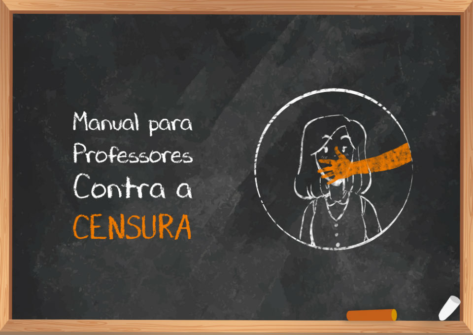 manual para professores contra a censura